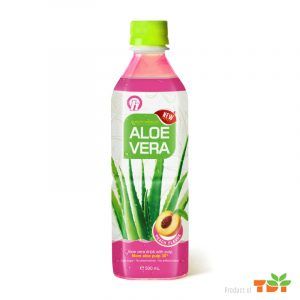 500ml OH Aloe vera Drink with Peach flavour