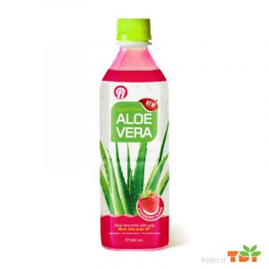 500ml OH Aloe vera Drink with Strawberry flavour