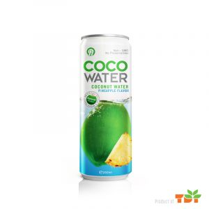 250ml Coconut water with pineapple flavor