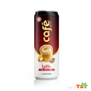 320ml OH Latte coffee Drink in can