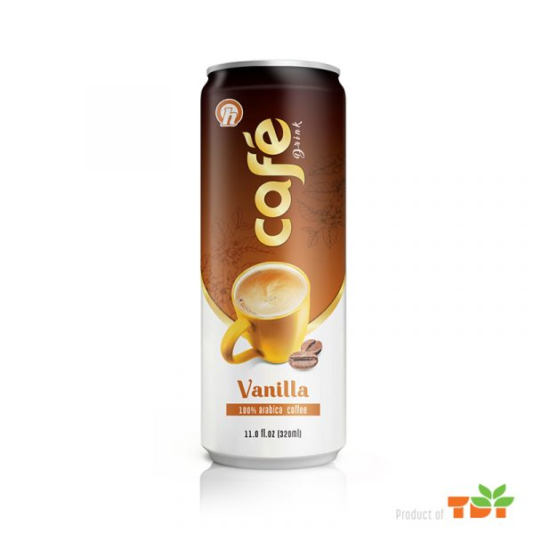 320ml OH Vanilla coffee Drink in can