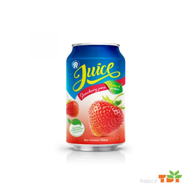 330ml OH Natural Strawberry juice NFC