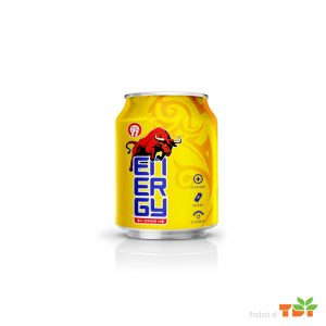 250ml Energy Drink in can