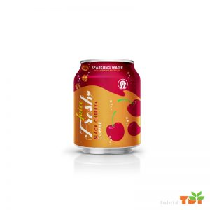 250ml OH Black Cherry with Coffee Sparkling water