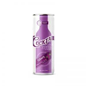 250ml TDT Grape Cocktail with Vodka