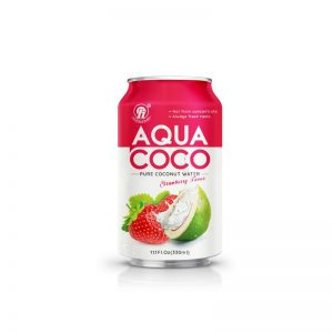 330ml TDT Pure Coconut Water with Strawberry