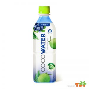 500ml TDT Coconut water 500ml with Blueberry flavour
