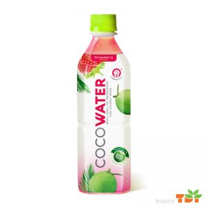 500ml TDT Coconut water 500ml with Strawberry flavour
