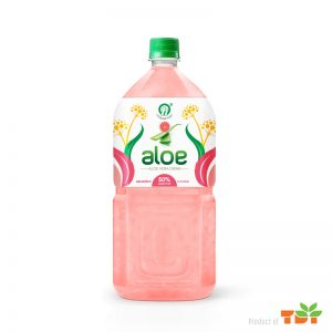 1Litter TDT Aloe vera drink with Pulp Grapefruit flavour