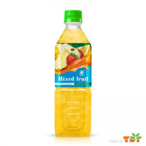 500ml TDT Mixed fruit juice NFC High Quality