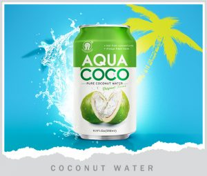 Poster Coconut water