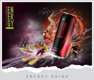 Poster Energy drink