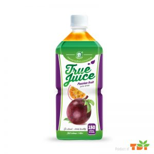 TDT Passion Fruit Juice Drink NFC 1L Pet bottle