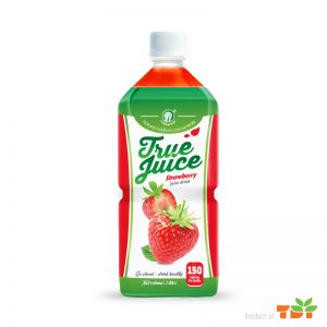 TDT Strawberry Juice Drink NFC 1L Pet bottle