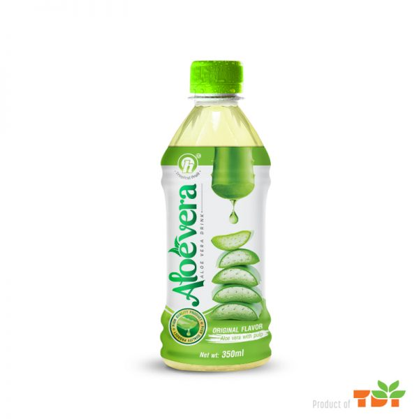 350ml TDT Aloe Vera Drink pulp Original