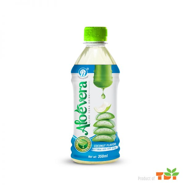 350ml TDT Aloe Vera Drink with Coconut Flavor