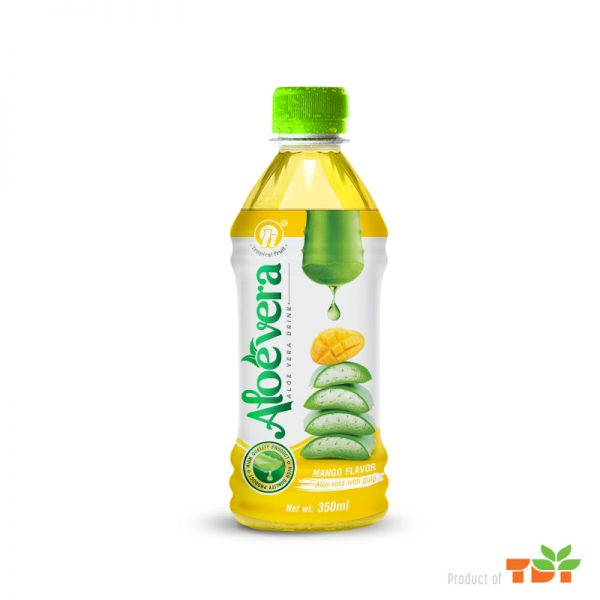 350ml TDT Aloe Vera Drink with Mango Flavor