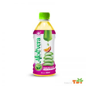 350ml TDT Aloe Vera Drink with Passion Fruit Flavor