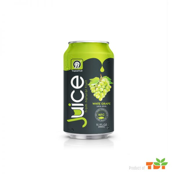 330ml TDT Natural White Grape Juice Drink
