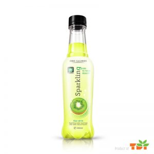 330ml Kiwi Sparkling water Pet bottle