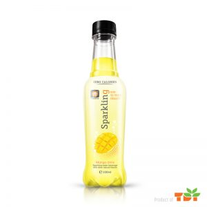 330ml Mango Sparkling water Pet bottle