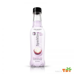 330ml Mangosteen Sparkling water Pet bottle