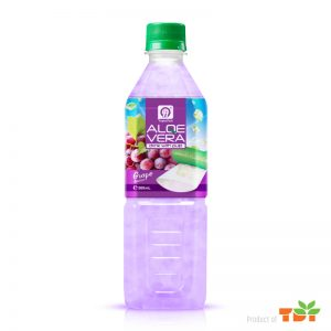500ml TDT Aloe vera Drink with Grape flavour