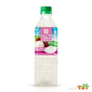 500ml TDT Aloe vera Drink with Lychee flavour
