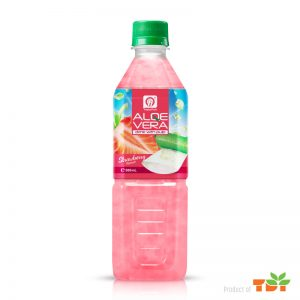 500ml TDT Aloe vera Drink with Strawberry flavour