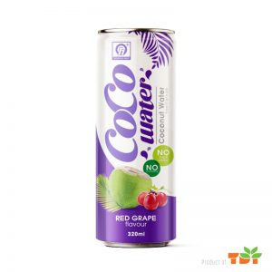 320ml TDT Coconut water with Grape