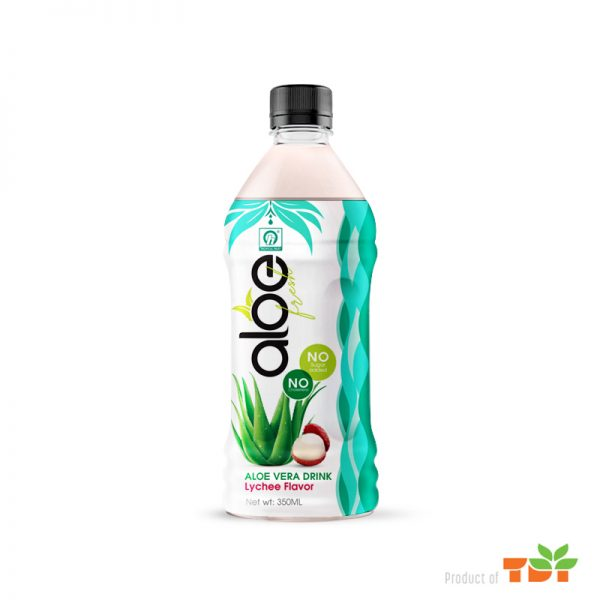 350ml TDT Aloe vera Drink with Lychee